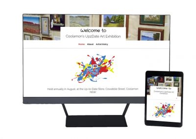 Art Exhibition Website