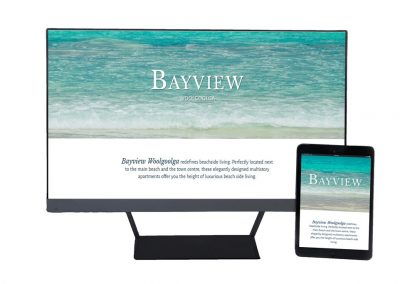 Bayview One-Page Website
